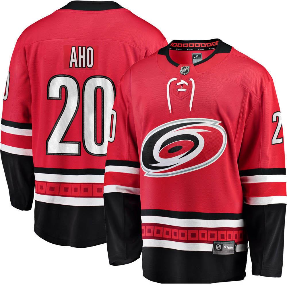 low priced affa3 de4d1 NHL hurricanes Sebastian fool uniform / jersey replica uniform / jersey home