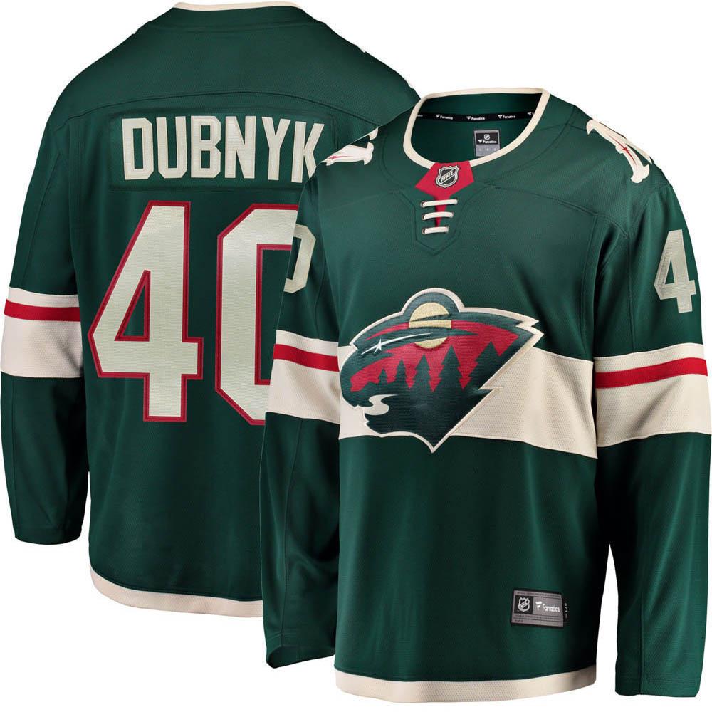 NHL ワイルド デバン・ダブニーック ユニフォーム/ジャージ レプリカ ユニフォーム/ジャージ ホーム
