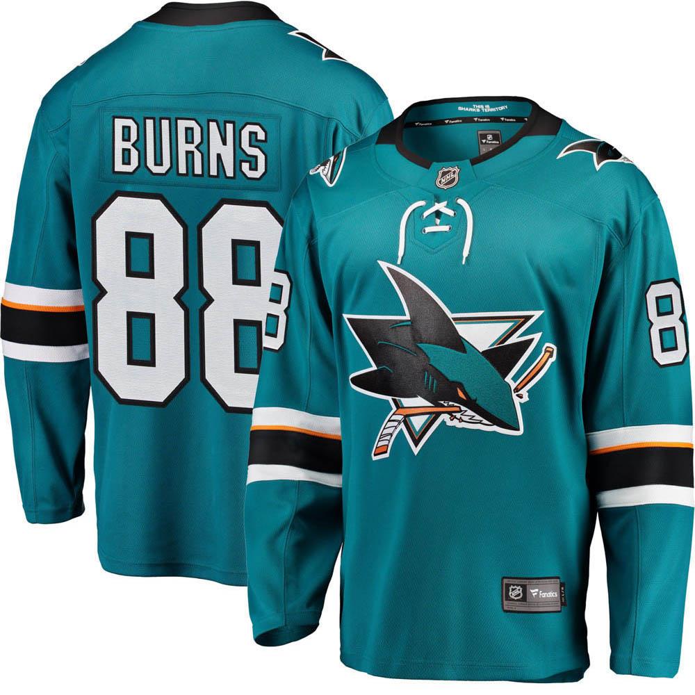 お取り寄せ NHL シャークス ブレント・バーンズ ユニフォーム/ジャージ レプリカ ユニフォーム/ジャージ ホーム