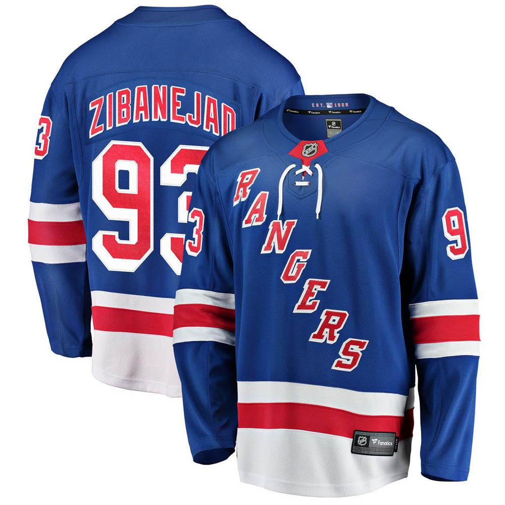 NHL レンジャース ミカ・ジバネジャド ユニフォーム/ジャージ レプリカ ユニフォーム/ジャージ ホーム