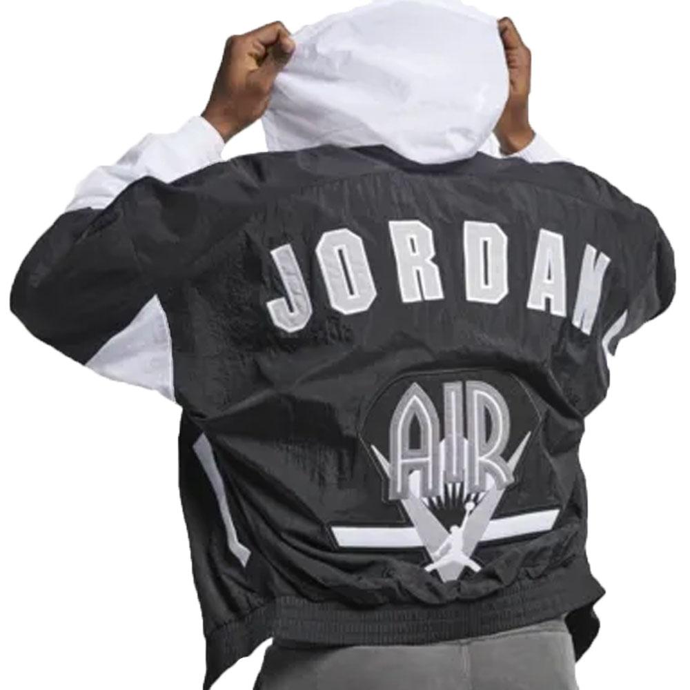 ナイキ ジョーダン/NIKE JORDAN ジャケット/アウター レガシーフライトノスタルジアAJ9 ブラック/ホワイト