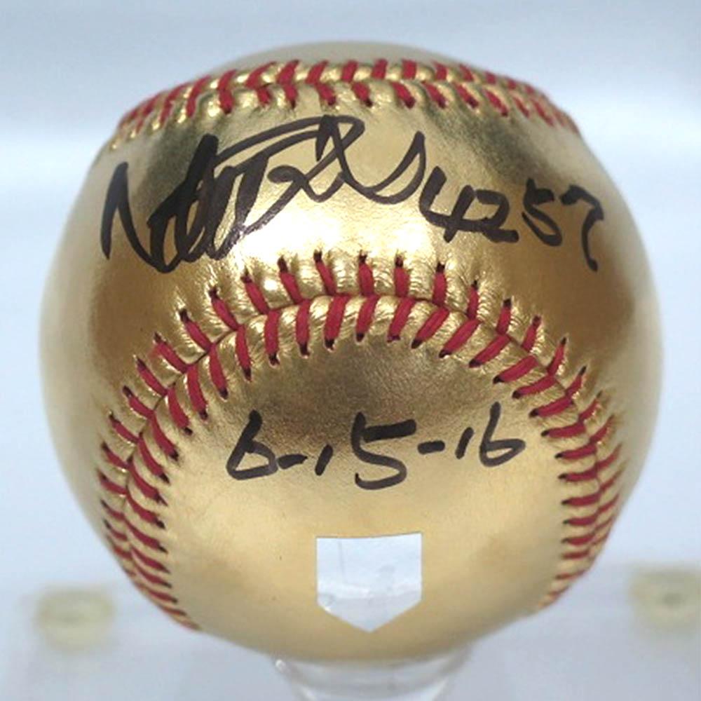 ご予約 ご予約 MLB マーリンズ イチロー イチロー ゴールドボール 直筆トリプルサイン入り 通算4257本安打達成記念 ゴールドボール, キングラス:43d14389 --- sunward.msk.ru