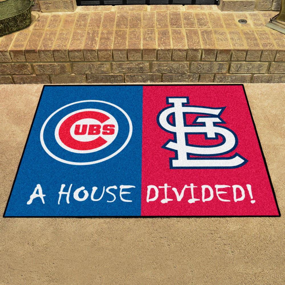 MLB カージナルス ハウス ディバイデッド マット