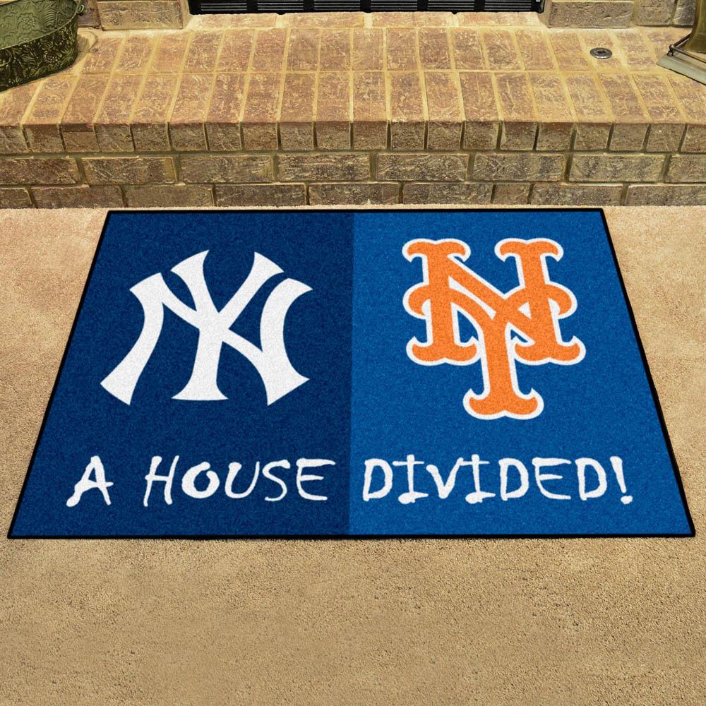 MLB ヤンキース ハウス ディバイデッド マット