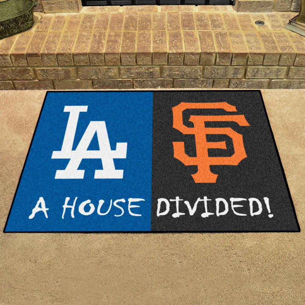MLB ジャイアンツ ハウス ディバイデッド マット