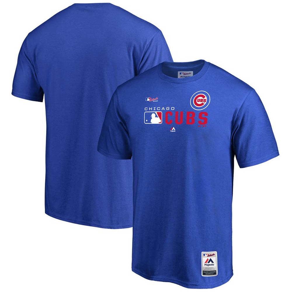 MLB カブス Tシャツ 2019 オーセンティックSS マジェスティック/Majestic ロイヤル【1910価格変更】【1112】
