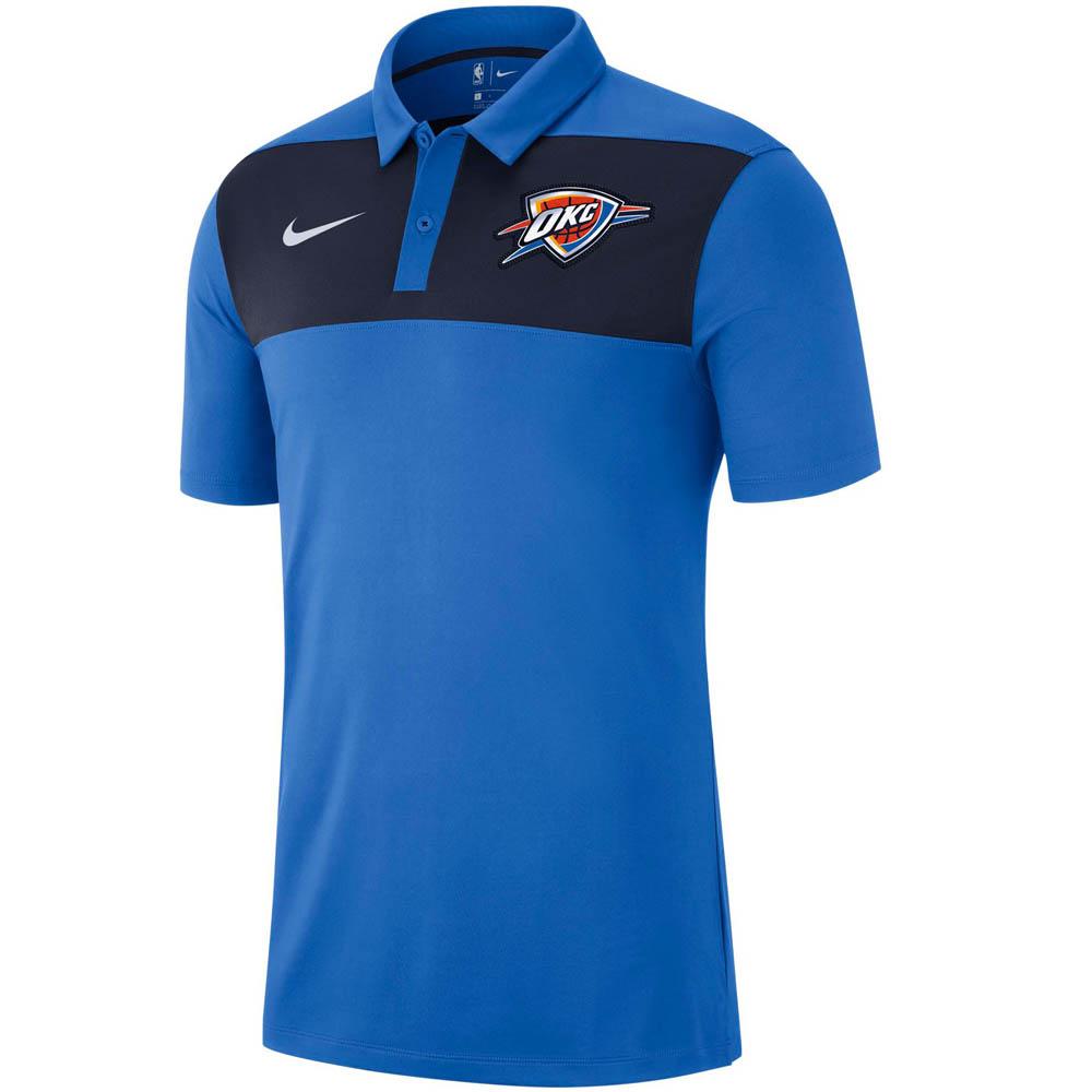 NBA サンダー ドライフィット ステートメント ポロ ナイキ/Nike