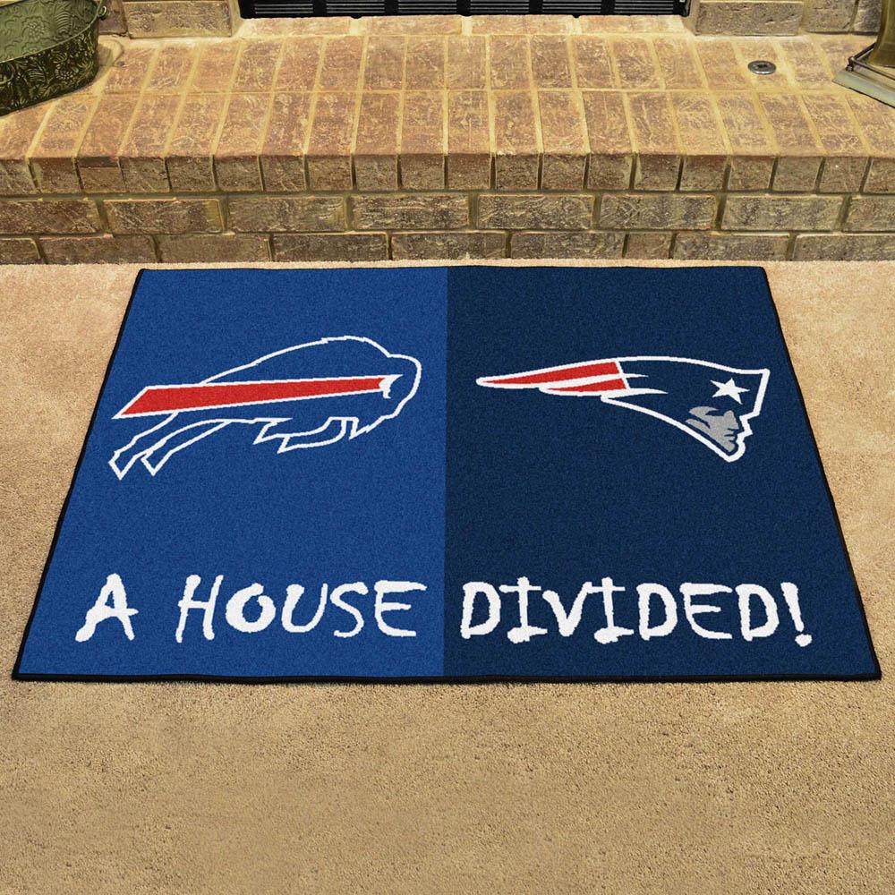 NFL ペイトリオッツ ハウス ディバイデッド マット