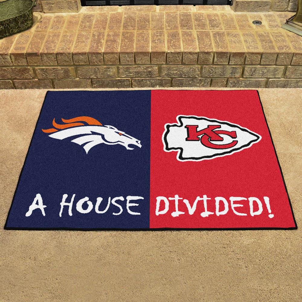 NFL チーフス ハウス ディバイデッド マット