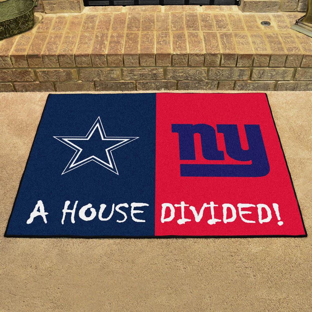 NFL ジャイアンツ ハウス ディバイデッド マット