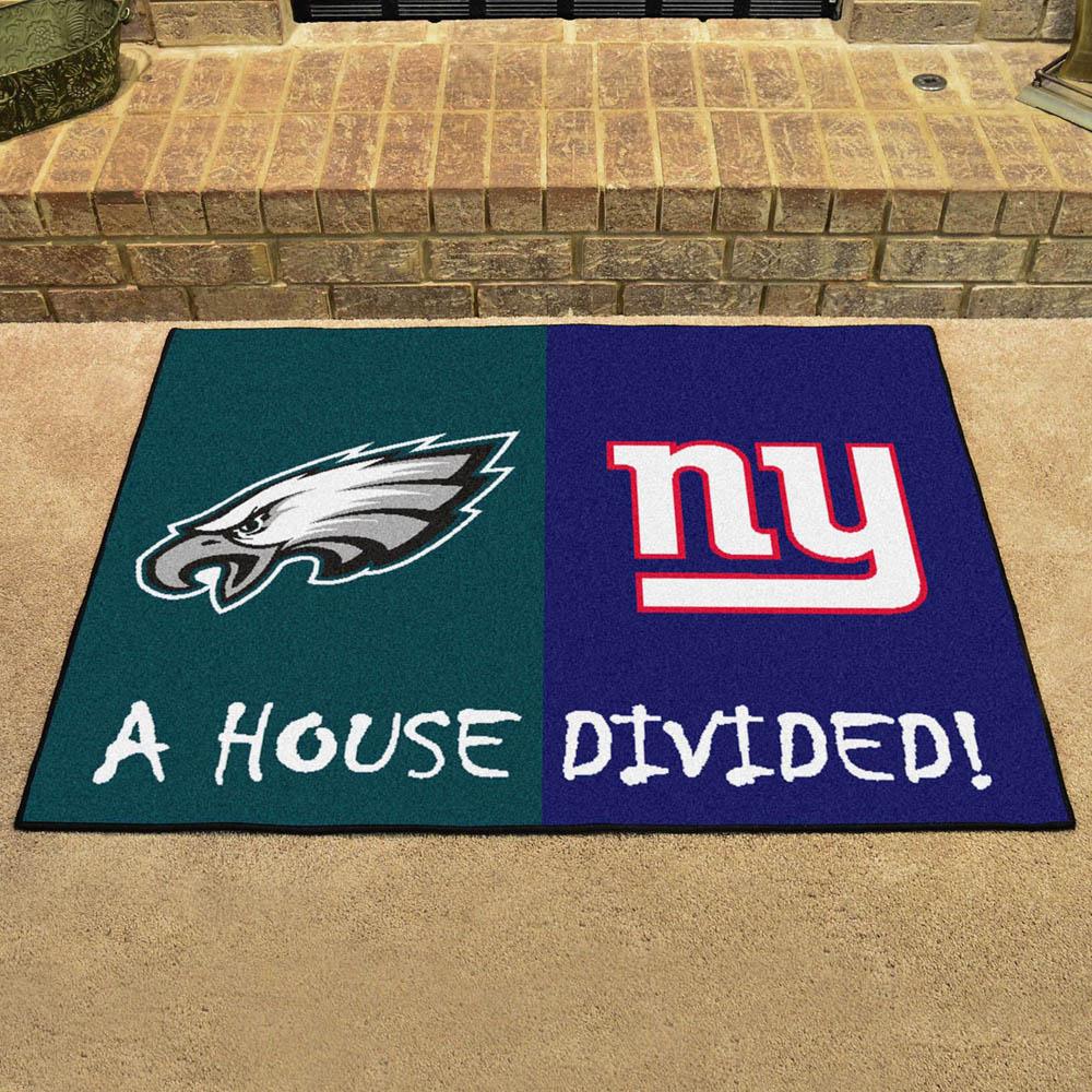NFL イーグルス ハウス ディバイデッド マット