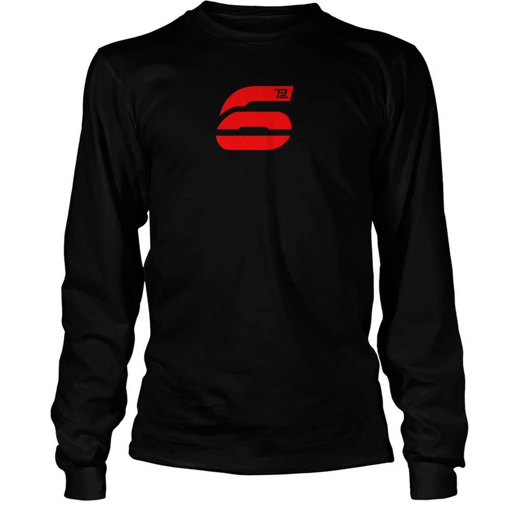 NFL トム・ブレイディ Tシャツ 6 ロングスリーブ TB12 ブラック