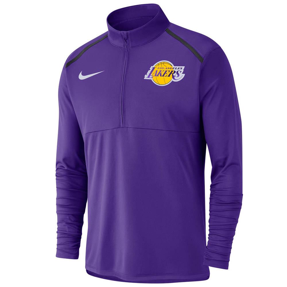 お取り寄せ NBA レイカーズ パーカー/フーディー ドライフィット エレメント ハーフジップ プルオーバー ナイキ/Nike