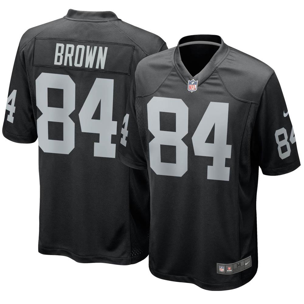 お取り寄せ NFL レイダース アントニオ・ブラウン ユニフォーム/ジャージ ゲーム ナイキ/Nike ホーム