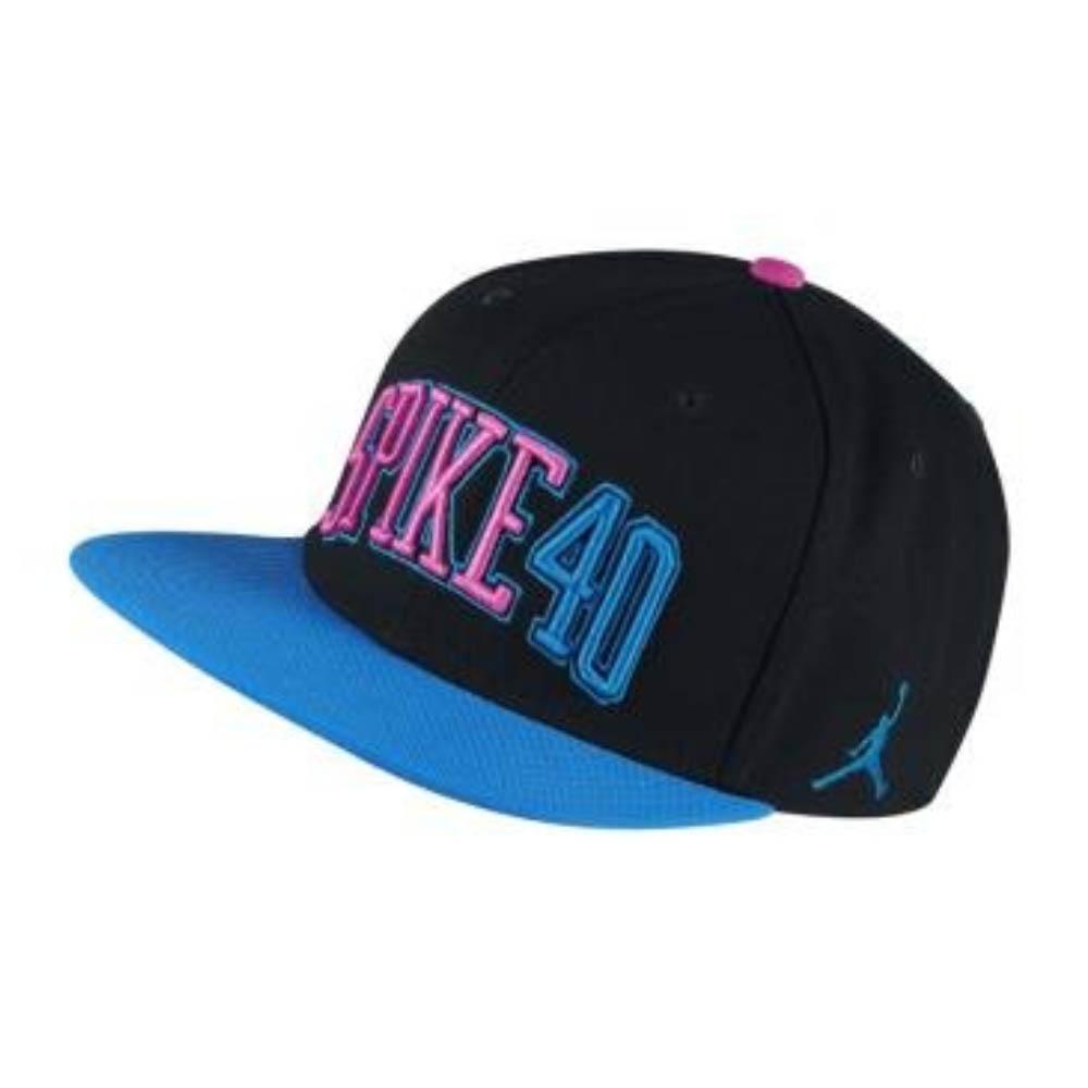 ナイキ ジョーダン/NIKE JORDAN キャップ/帽子 SPIKE 40 スナップバック Black/Blue/Pink【1910価格変更】【191028変更】