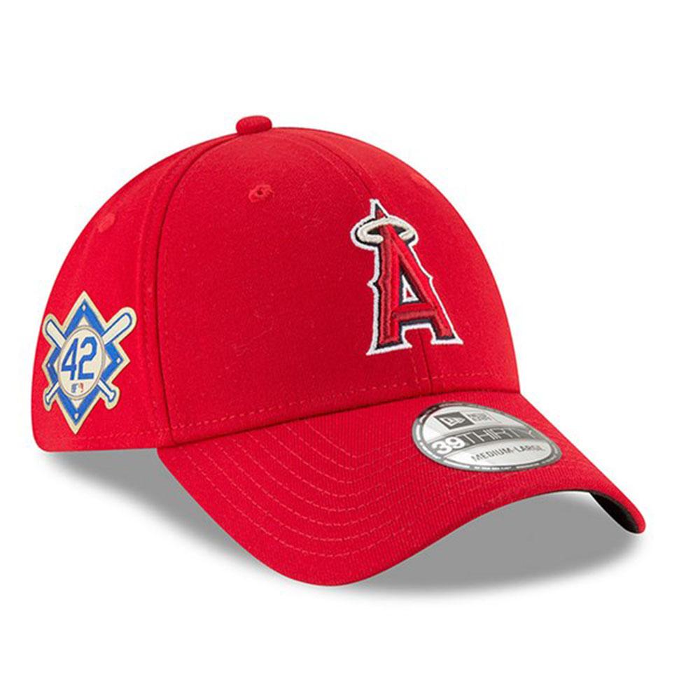 エンゼルス キャップ ニューエラ NEW ERA MLB ジャッキー ロビンソン デー フレックス レッド【1910価格変更】【191028変更】