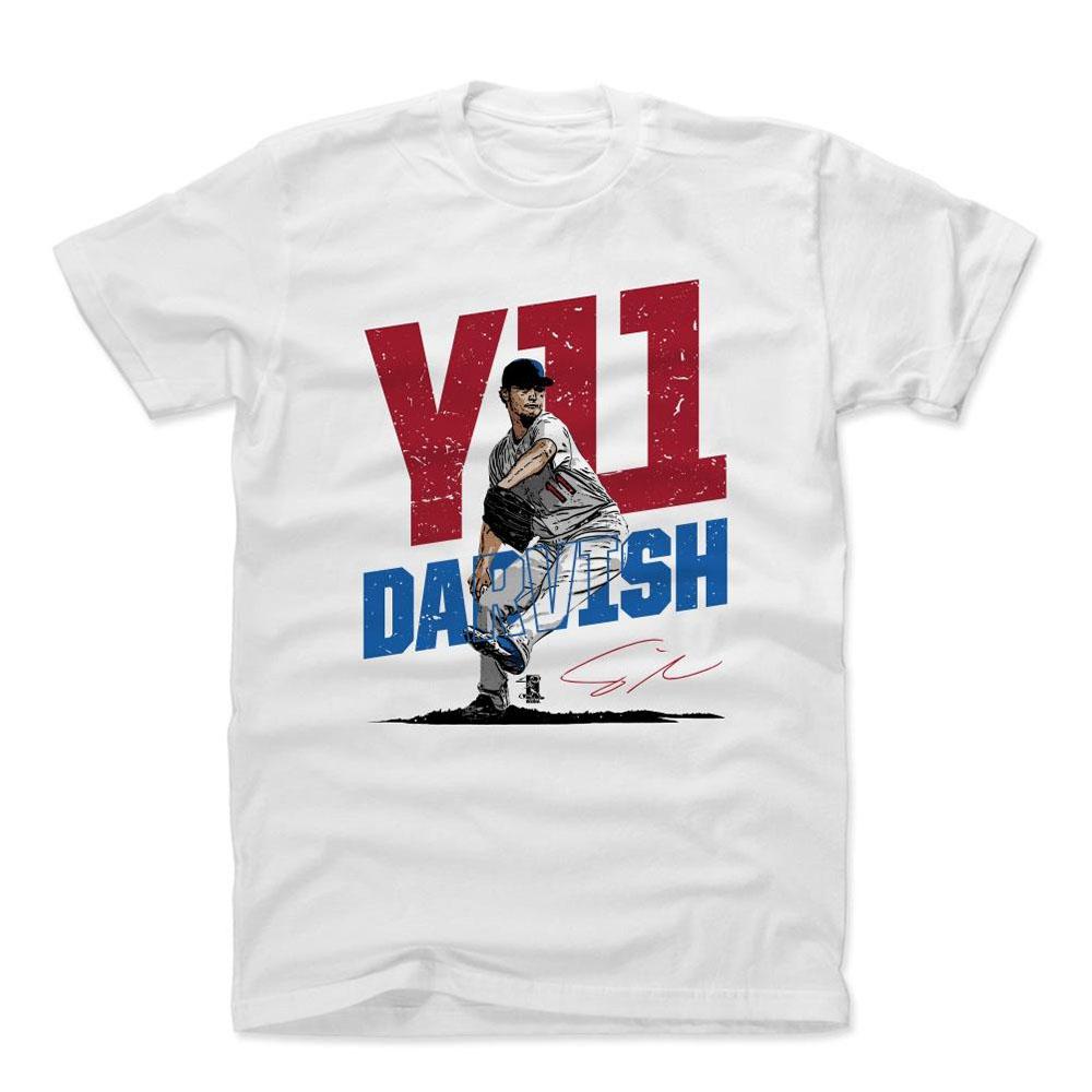 MLB Tシャツ カブス ダルビッシュ有 Player Art Cotton T-Shirt 500Level ホワイト【1910価格変更】【1112LV】