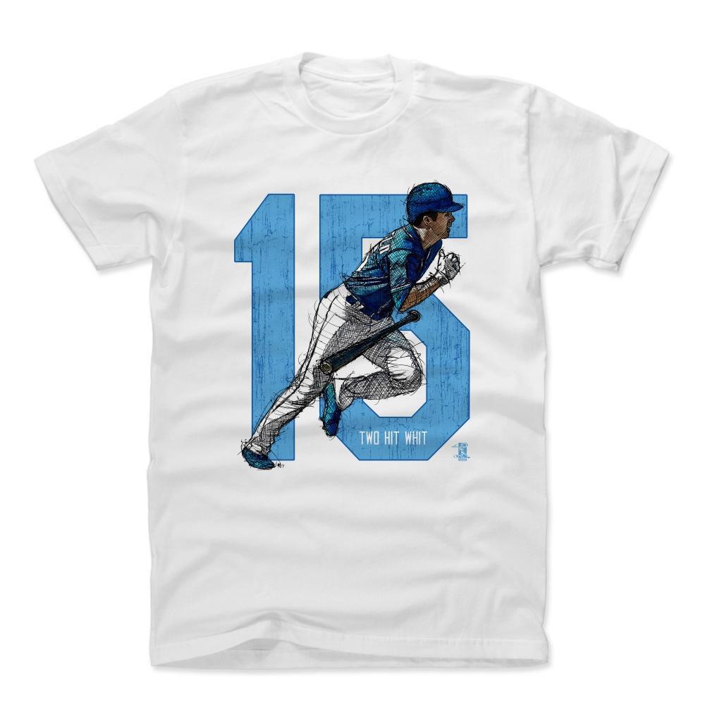 MLB Tシャツ ロイヤルズ ウィット・メリフィールド Player Art Cotton T-Shirt 500Level ホワイト【1910価格変更】【1112LV】