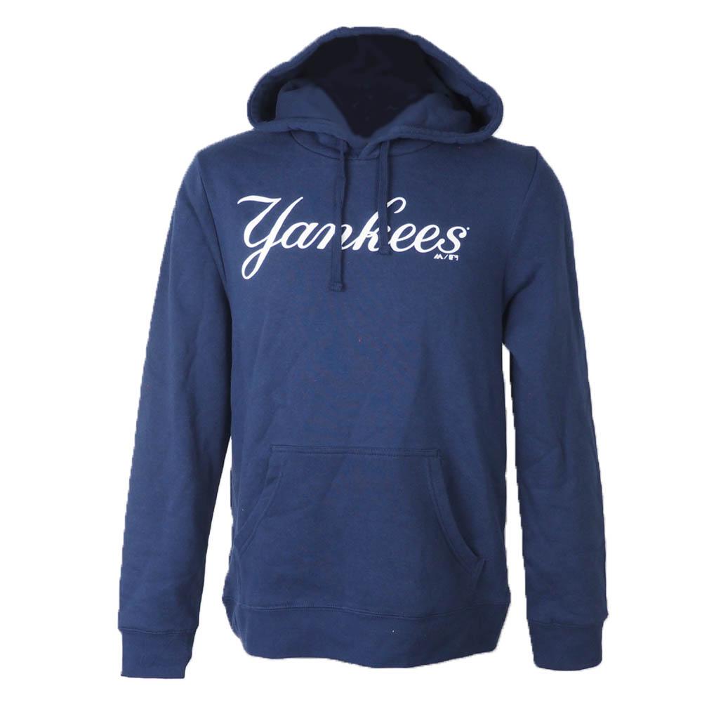 【リニューアル記念メガセール】MLB パーカー ヤンキース フーディー レップ ユア スカッド マジェスティック/Majestic ネイビー