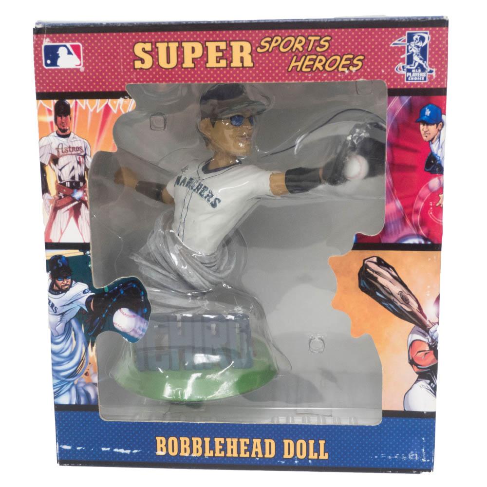 MLB(メジャーリーグ) マリナーズ イチロー フィギュア スーパースターズ ボブルヘッドドールズ Alexander Gloval Promotions