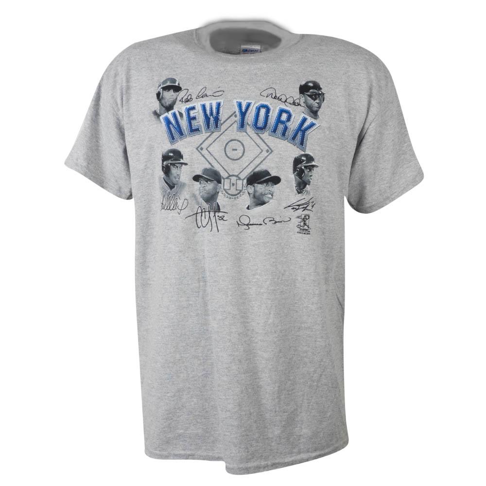 MLB ヤンキース Tシャツ 2013 6プレーヤー シグネチャー SGA グレー