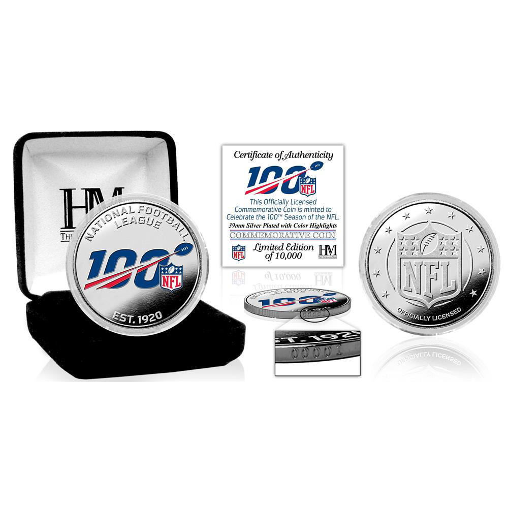 NFL 100周年記念 コイン The Highland Mint