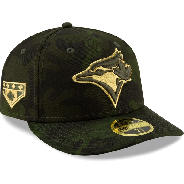 MLB ブルージェイズ キャップ/帽子 2019 Armed Forces Day On-Field Low Profile 59FIFTY ニューエラ/New Era カモ