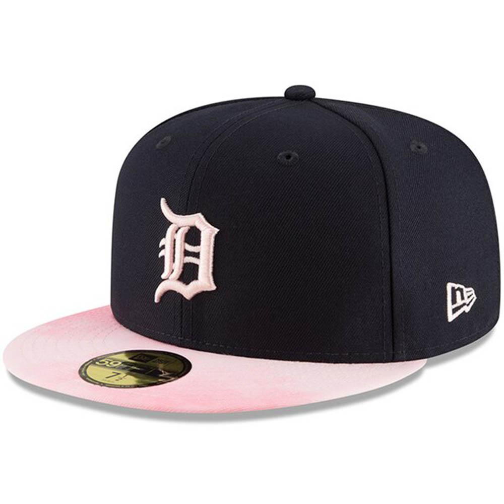 MLB タイガース キャップ/帽子 2019 マザーズデー 選手着用 母の日 ニューエラ/New Era ネイビー
