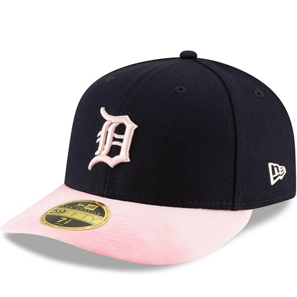 MLB タイガース キャップ/帽子 2019 マザーズデー 選手着用 ロープロファイル 母の日 ニューエラ/New Era ネイビー