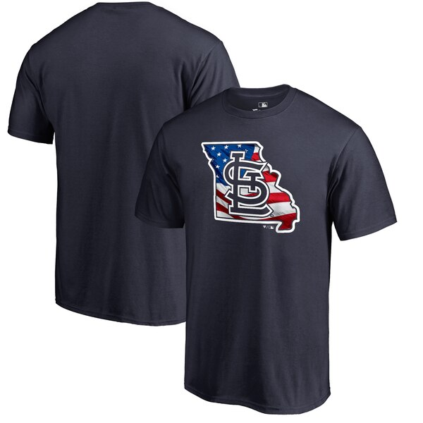 MLB カージナルス Tシャツ 2019 メモリアル デー バナー ステート ネイビー【1910価格変更】【1112】
