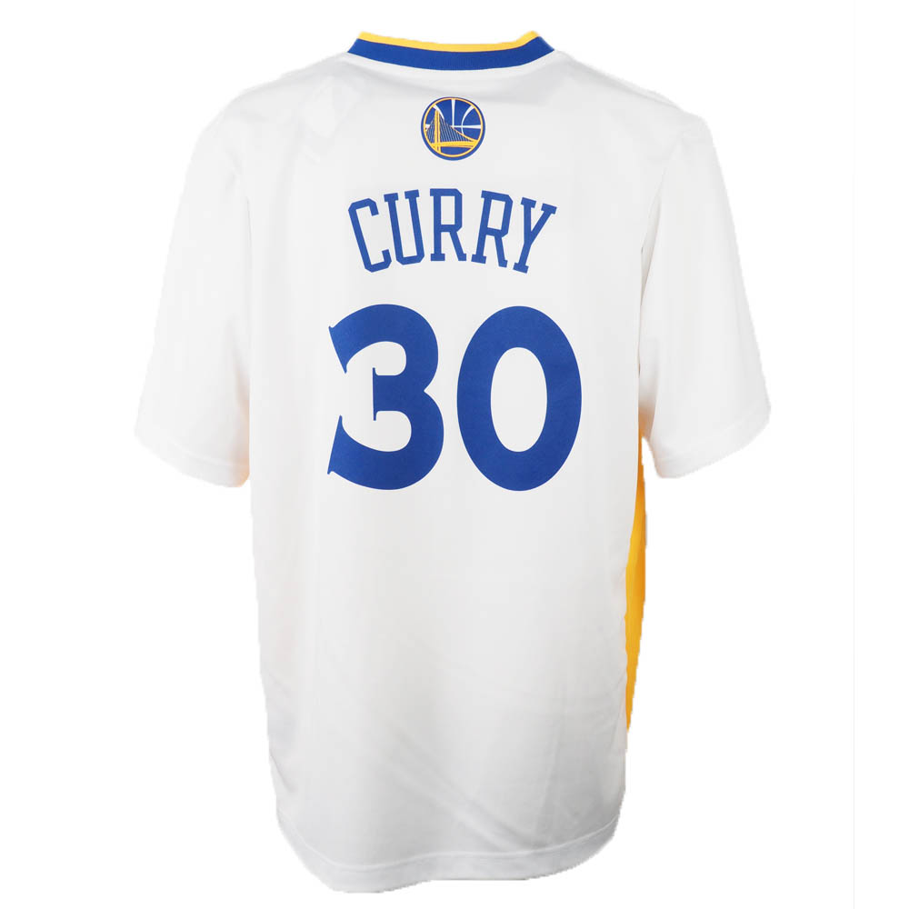 save off 0d286 fbda8 Throw away NBA Warriors Stephane curry; fin curry uniform / jersey replica  half sleeve Adidas /Adidas home