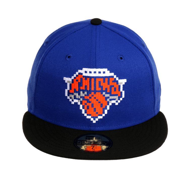 NBA ニックス Era キャップ/帽子 エクスクルーシブ 59Fifty ピクセル ハット ハット ニューエラ/New ニューエラ/New Era ロイヤル/ブラック, CHRONOHEARTS&COCORESALE:2cd6f2a5 --- wap.acessoverde.com