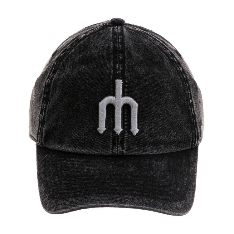 マリナーズ キャップ MLB クリーンナップ スノードリフト アジャスタブル 47 Brand ブラック【1910価格変更】【191028変更】