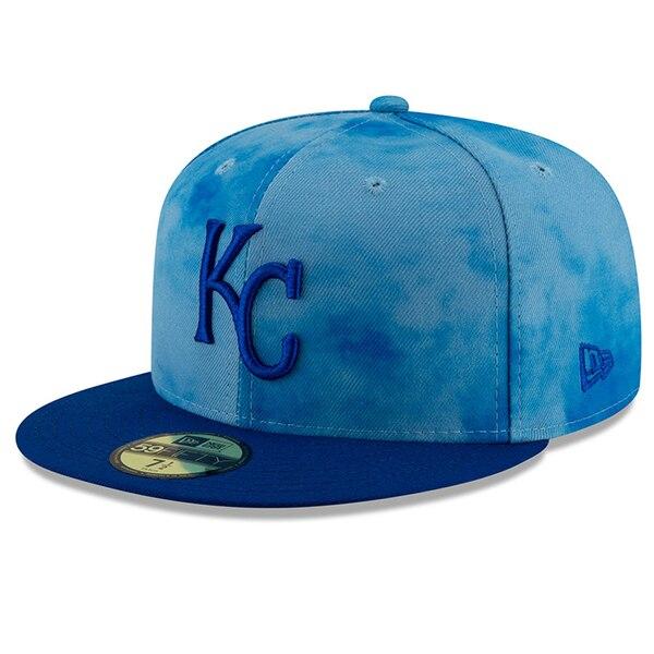MLB ロイヤルズ キャップ/帽子 2019 ファーザーズデー オンフィールド 父の日 ニューエラ/New Era ロイヤル