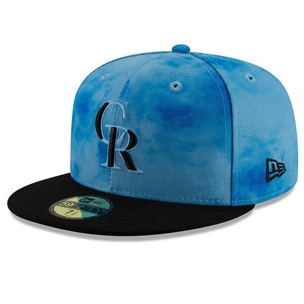MLB ロッキーズ キャップ/帽子 2019 ファーザーズデー オンフィールド 父の日 ニューエラ/New Era ブラック