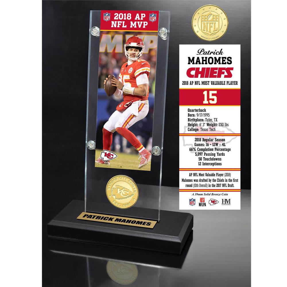 スーパーボウル進出 NFL チーフス パトリック マホームズ MVP コメモラティブ アンド コイン ハイランドミント/The Highland Mint Mint