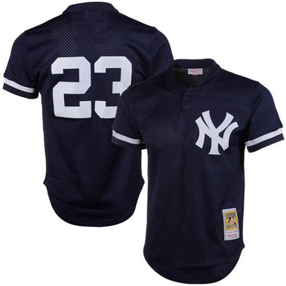 MLB ヤンキース ドン・マッティングリー ユニフォーム/ジャージ 1995 クーパーズタウン ミッチェル&ネス/Mitchell & Ness