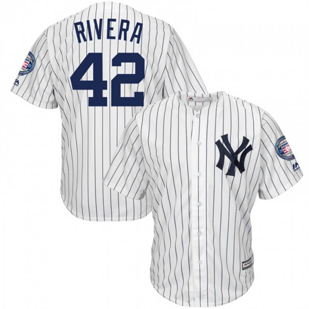 【リニューアル記念メガセール】MLB ヤンキース マリアノ・リベラ ユニフォーム/ジャージ 2019 レプリカ マジェスティック/Majestic ホーム