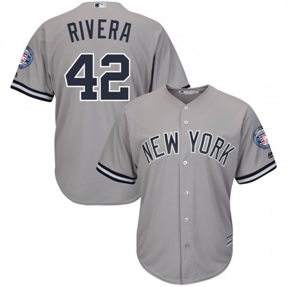 【リニューアル記念メガセール】MLB ヤンキース マリアノ・リベラ ユニフォーム/ジャージ 2019 レプリカ マジェスティック/Majestic ロード