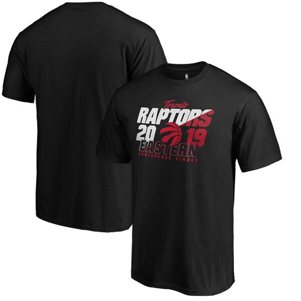 NBA Tシャツ ラプターズ 2019 プレーオフファイナル 進出記念 ブラック【1910価格変更】【1911NBAt】