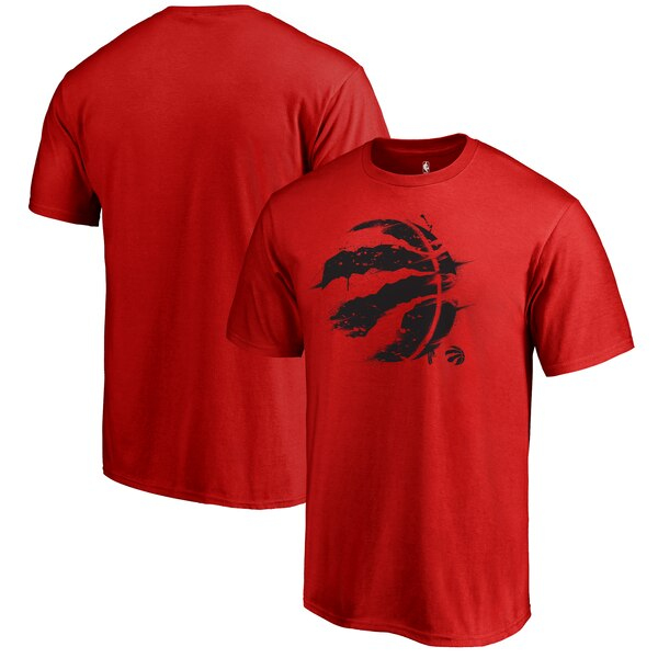 NBA Tシャツ ラプターズ スプラッター ロゴ レッド【1910価格変更】【1911NBAt】