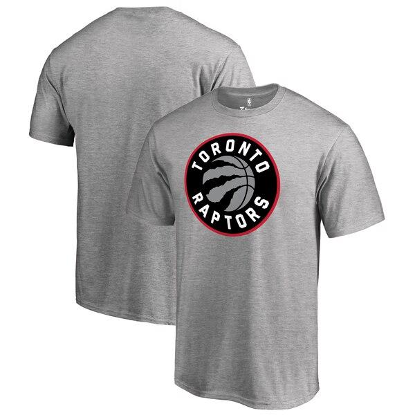 NBA Tシャツ ラプターズ プライマリー ロゴ ヘザー グレー【1910価格変更】【1911NBAt】