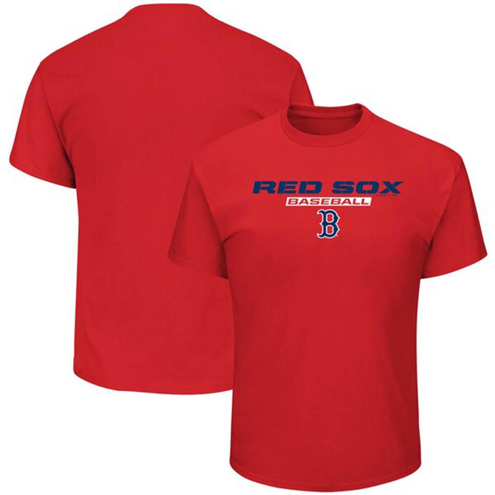 MLB レッドソックス Tシャツ ジャスト ライク ザット レッド【1910価格変更】【1112】