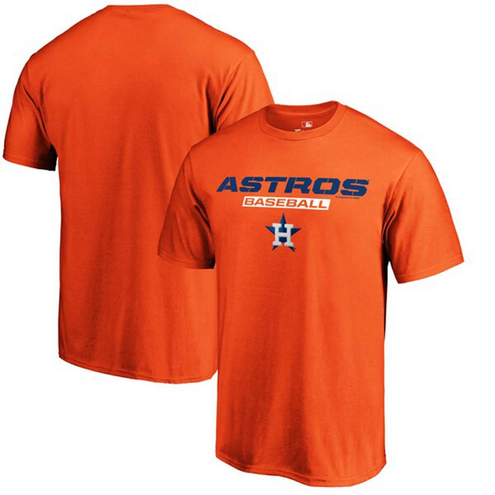 ワールドシリーズ進出 MLB アストロズ Tシャツ ジャスト ライク ザット オレンジ【1910価格変更】【1112】