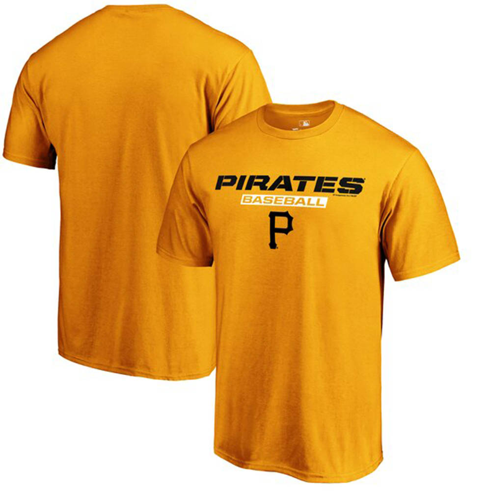MLB パイレーツ Tシャツ ジャスト ライク ザット ゴールド【1910価格変更】【1112】