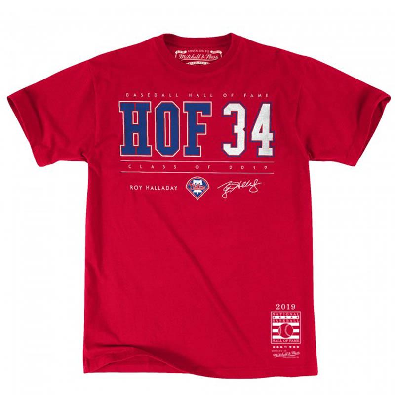 MLB フィリーズ ロイ・ハラデイ Tシャツ 2019 ホール オブ フェイム ミッチェル&ネス/Mitchell & Ness レッド【1910価格変更】【1112】