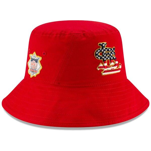 カージナルス キャップ ニューエラ NEW ERA MLB 2019 スターズ&ストライプス バケット ハット 【1910価格変更】【191028変更】