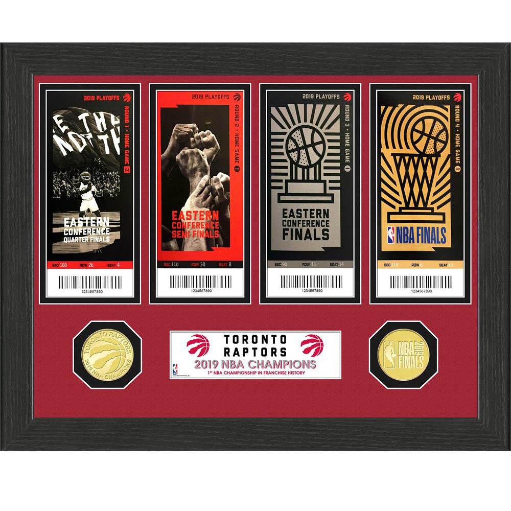 NBA ラプターズ 2019 NBA ファイナル 優勝記念 チケット コレクション The Highland Mint Ticket
