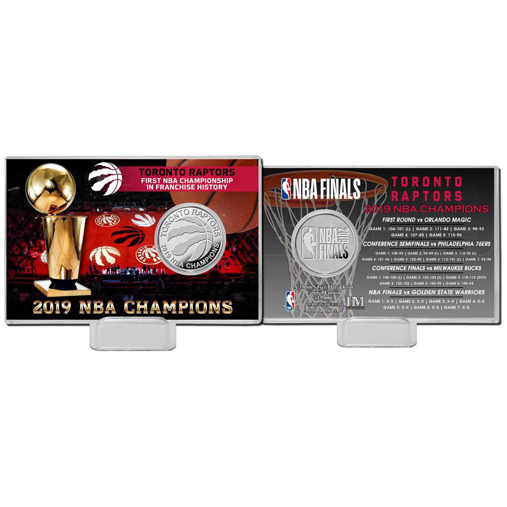 Order NBA Raptors 2019 NBA Final championship memory silver coin card The  Highland Mint silver