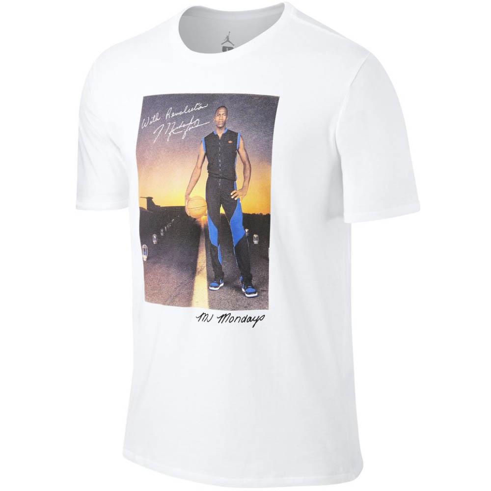 ナイキ ジョーダン/NIKE JORDAN Tシャツ ホワイト 801603-100【1910価格変更】